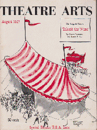 THEATRE ARTS Aug.1957