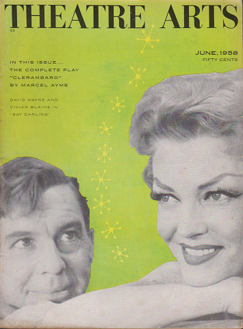 THEATRE ARTS Jun.1958