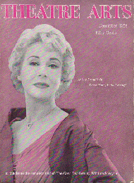 THEATRE ARTS Dec.1958
