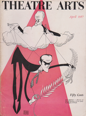 THEATRE ARTS Apr.1957