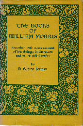 THE BOOKS OF WILLIAM MORRIS 洋書