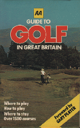 洋書 GUIDE TO GOLF IN GREAT BRITAIN