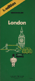 MICHELIN London  1st edition