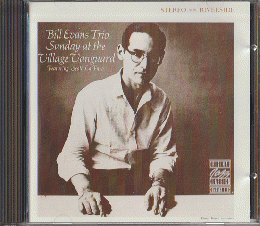 CD:Bill Evans Trio Sunday at the Village Vanguard