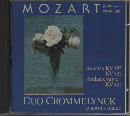 CD 『MOZART WORKS FOR PIANO 4 HANDS』