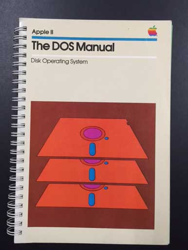 APPLE Ⅱ The DOS Manuual  (Disk Operating System)