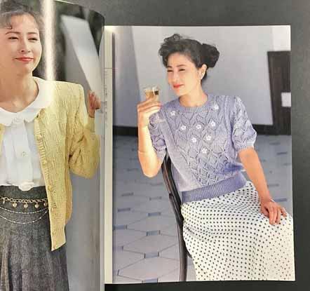 洋服が素敵な岡江久美子さん