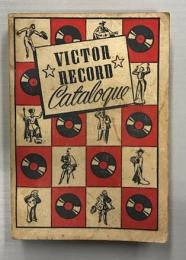 VICTOR RECORD Catalogue (Complete Catalog of Victor Records for 1939-1940)