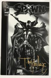 SPAWN  #1 Black & White Special Edition トッド・マクファーレン直筆サイン入り