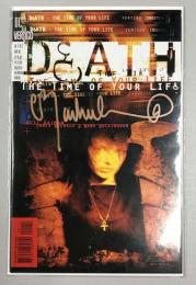 DEATH  THE TIME OF YOUR LIFE #1  Chris Bachalo サイン入り 証明書付き
