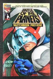 BATTLE OF THE PLANETS SKETCHBOOK PREVIEW  限定版証明書付き (科学忍者隊ガッチャマン アメリカ版 )