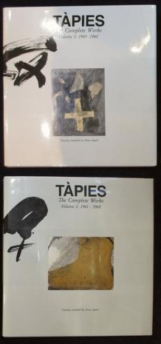 TAPIES The Complete Works Volume 1:1943-1960 + Volume 2:1961-1968