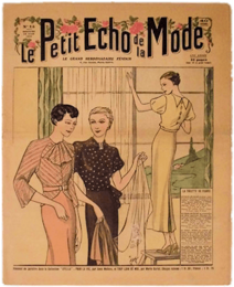 Le Petit Echo de la Mode (No.15: 14 Avril 1935)