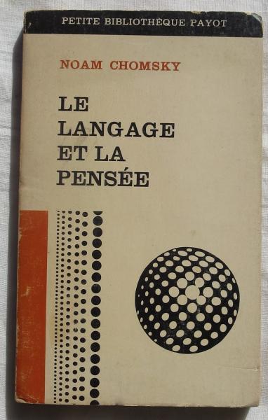 仏書) LE LANGAGE ET PENSEE (...