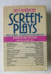 [英書] SCREEN-0PLAYS (12映画作品の脚本) =  ALL QUIET ON THE WESTERN FRONT / MEET JOHN DOE / CASABLANCA / MIRACLE ON 34TH STREET / REBEL WITHOUT A CAUSE / BONNIE AND CLYDE / THE GRADUATE / BUTCH CASSIDY AND THE SUNDANCE KID / SOUNDER / ON GOLDEN POND / ARTHUR / THE CANDIDATE