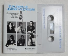 《[英書]》 Functions of American English Student's book: Communication Activities for the Classroom  カセットテープ1本付き)  //目次、ページ見本の画あり//