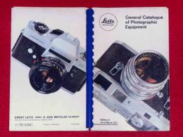 General Catalogue of Photographic Equipment  ライカ・カメラ総合カタログ 1971年