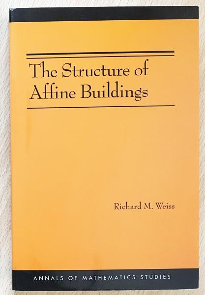 英語数学洋書 The structure of affine buildings【アフィン型建物の ...