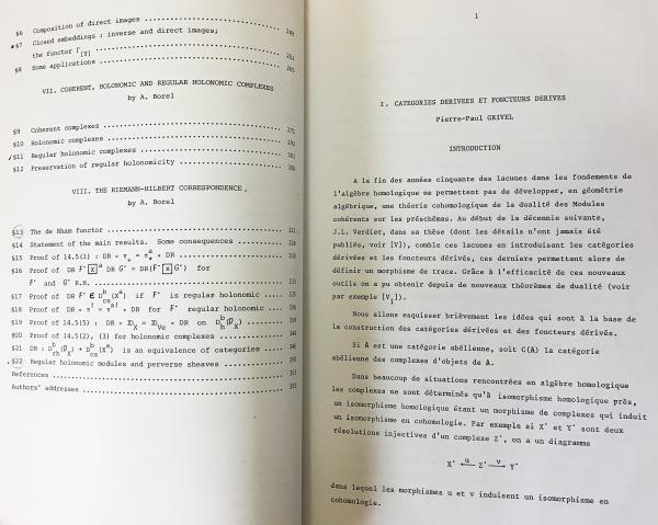 数学洋書 Algebraic D-modules【代数的D-加群】(A. Borel ... [et al ...