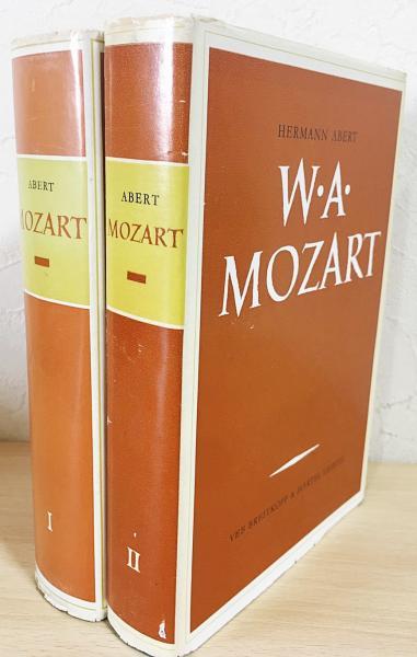 ドイツ語洋書 W. A. Mozart 本巻全2冊揃(索引巻欠)【モーツァルト伝 ...