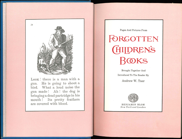 Pages and Pictures from Forgotten Children's Books. テュア:忘れられた児童書