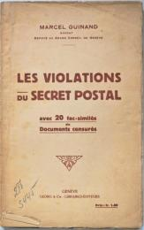Les Violations du Secret Postal. ギナン:郵便の秘密違犯