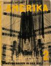 アメリカ (ガントナー編「世界の新建築」シリーズ/初版) Amerika....