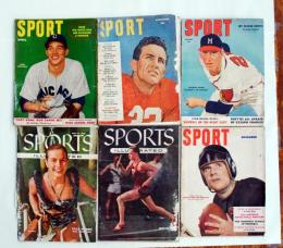 SPORT the magazine for spectators 1950~1955 6冊