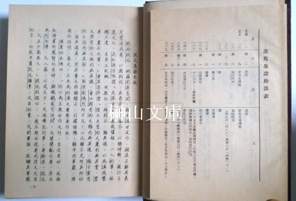 説苑集證 上・下(左松超撰) / 榊山文庫 / 古本、中古本、古書籍の通販 ...