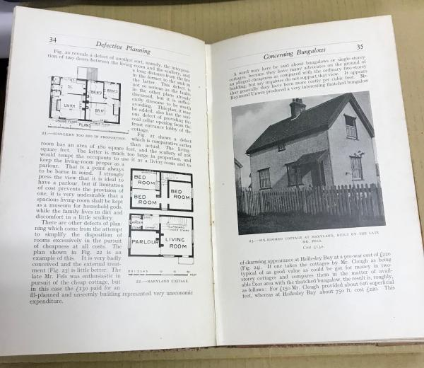 The'Country Life 'Book of Cottages 田舎暮らしの本(LAWRENCE WEAVER ...