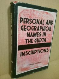 Personal and Geographical Names in the Gupta Inscriptions