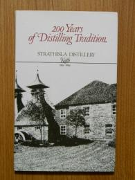 200Years of Distilling Tradition Keith 1786-1986