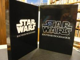 「STAR WARS SOUVENUIR PROGRAM BOX     函入  スター・ウォーズ関連映画パンフレット 7冊セット」 スター・ウォーズ/帝国の逆襲/ジュダイの復讐/THE STAR WARS TRILOGY/STAR WARS EPISODE1 THE PHANTOM MENACE/STAR WARS EPISODE2 ATTACK OF THE CLONES/STAR WARS EPISODE3 REVENGE OF THE SITH