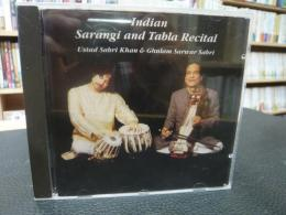 CD 「Indian Sarangi and Tabla Recital」 EUCD1172