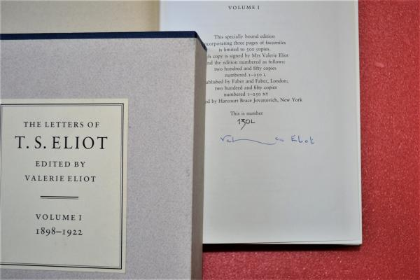 THE LETTERS OF T.S.ELIOT VOLUME1 (1989-1922)