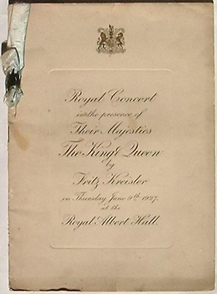 royal concert in the presence of their majesties the king queen by