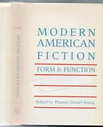 Modern American fiction : form and function
