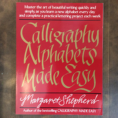 calligraphy alphabets made easy margaret shepherd 言事堂 古本