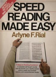 Speed Reading Made Easy: 6 Steps to Reading Excellence