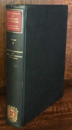 Bibliography of American Literature Volume Four  Nathaniel Hawthorne to Joseph Hold Ingraham