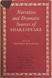 "Narrative and Dramatic Sources of Shakespeare Vol.Ⅵ Other ""Classical"" Plays: Titus Andronicus,  Troilus and Cressida, Timon of Athens, Pericles,Prince of Tyre"